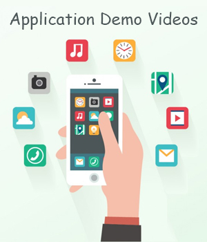 Application Demo Videos